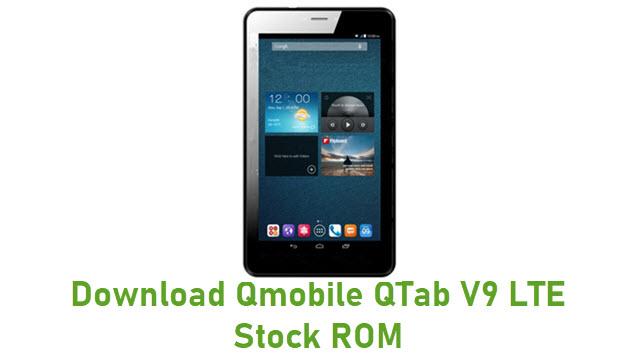 Download Qmobile QTab V9 LTE Stock ROM