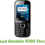 Qmobile R200 Stock ROM