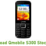 Qmobile S300 Stock ROM