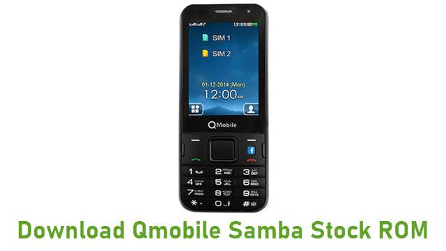 Download Qmobile Samba Stock ROM