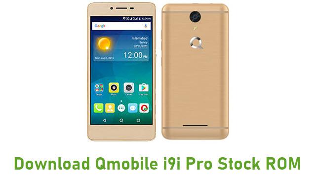 Download Qmobile i9i Pro Stock ROM