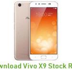 Vivo X9 Stock ROM