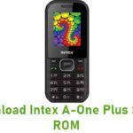 Intex A-One Plus Stock ROM