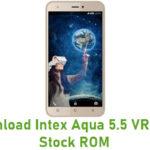 Intex Aqua 5.5 VR Plus Stock ROM