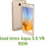 Intex Aqua 5.5 VR Stock ROM