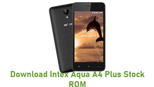 Download Intex Aqua A4 Plus Stock ROM