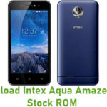 Intex Aqua Amaze Plus Stock ROM