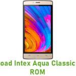 Intex Aqua Classic Stock ROM
