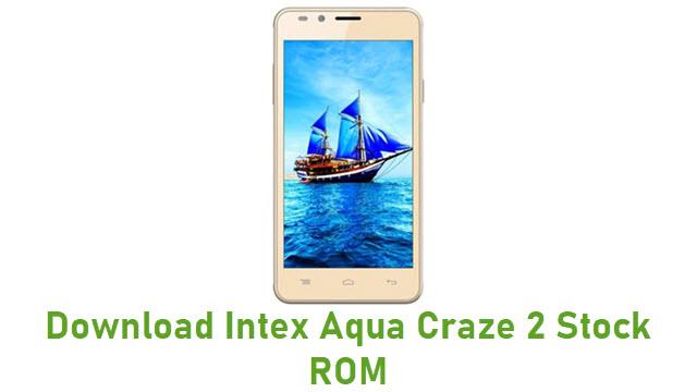 Download Intex Aqua Craze 2 Stock ROM