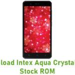 Intex Aqua Crystal Plus Stock ROM