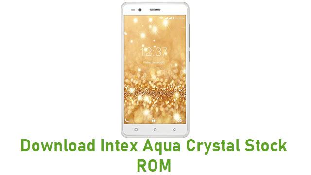 Download Intex Aqua Crystal Stock ROM
