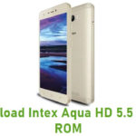 Intex Aqua HD 5.5 Stock ROM