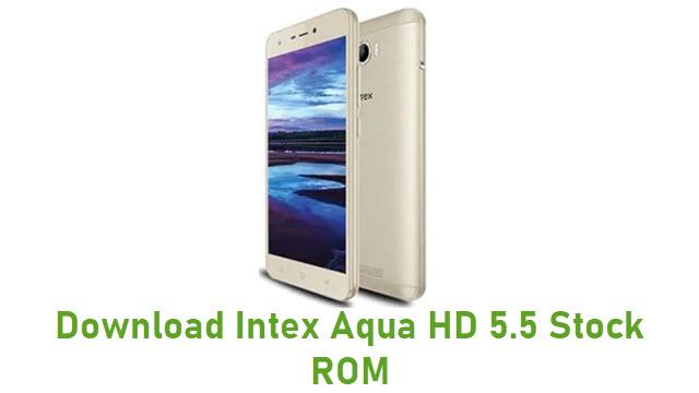 Download Intex Aqua HD 5.5 Stock ROM