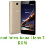 Intex Aqua Lions 2 Stock ROM