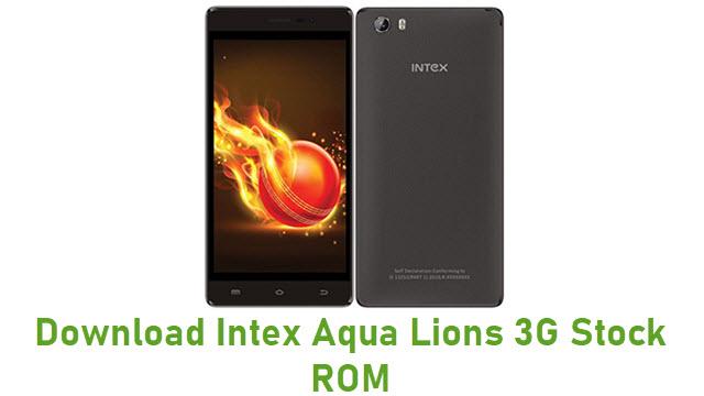 Download Intex Aqua Lions 3G Stock ROM