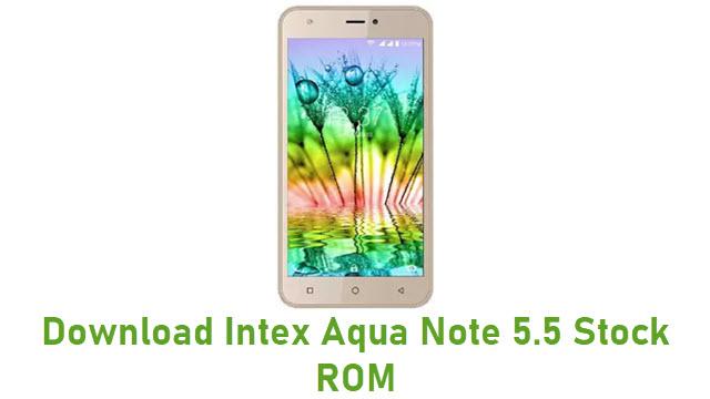 Download Intex Aqua Note 5.5 Stock ROM