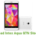 Intex Aqua Q7N Stock ROM