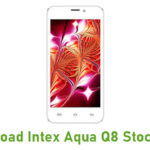 Intex Aqua Q8 Stock ROM