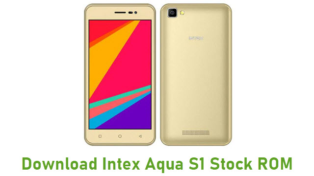 Download Intex Aqua S1 Stock ROM