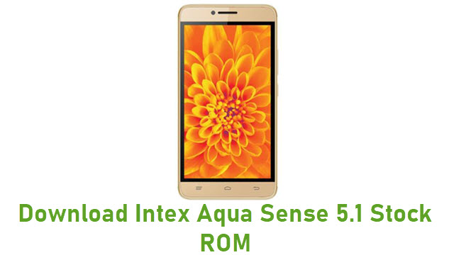 Download Intex Aqua Sense 5.1 Stock ROM