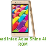 Intex Aqua Shine 4G Stock ROM