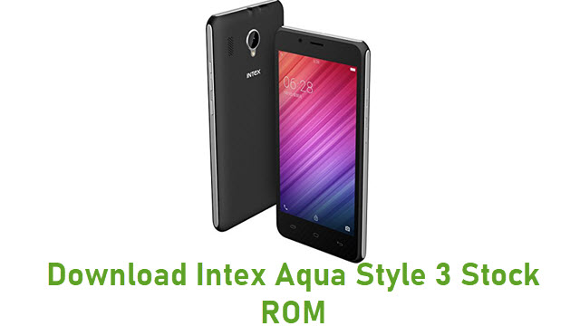 Download Intex Aqua Style 3 Stock ROM
