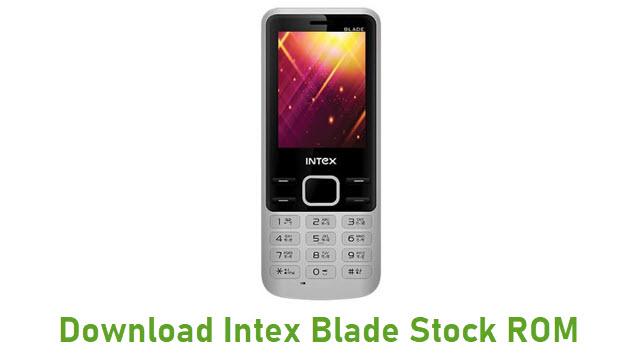 Download Intex Blade Stock ROM