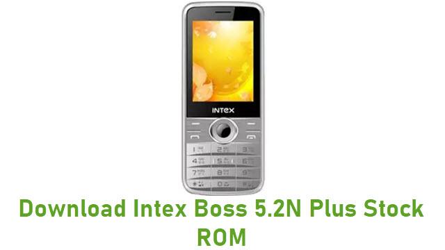 Download Intex Boss 5.2N Plus Stock ROM