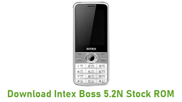 Download Intex Boss 5.2N Stock ROM