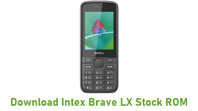 Download Intex Brave LX Stock ROM