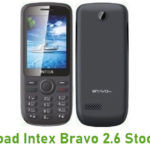 Intex Bravo 2.6 Stock ROM