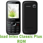 Intex Classic Plus Stock ROM