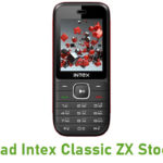 Intex Classic ZX Stock ROM