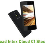Intex Cloud C1 Stock ROM