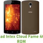 Intex Cloud Fame 4G Stock ROM