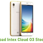 Intex Cloud O3 Stock ROM