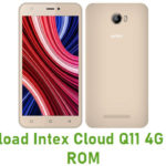 Intex Cloud Q11 4G Stock ROM