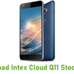 Intex Cloud Q11 Stock ROM