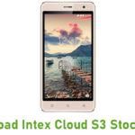 Intex Cloud S3 Stock ROM