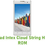 Intex Cloud String HD Stock ROM