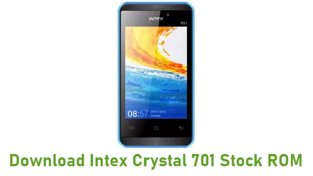 Download Intex Crystal 701 Stock ROM