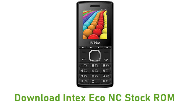 Download Intex Eco NC Stock ROM