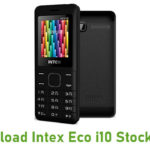 Intex Eco i10 Stock ROM
