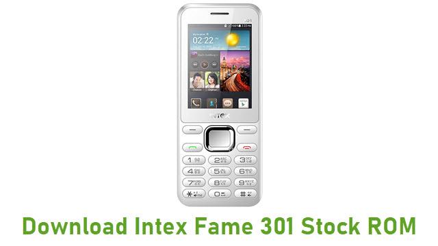 Download Intex Fame 301 Stock ROM