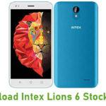 Intex Lions 6 Stock ROM