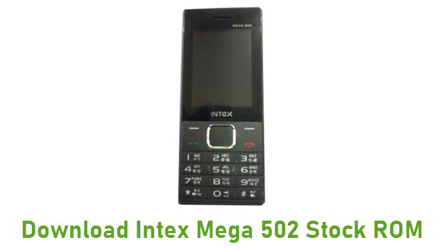 Download Intex Mega 502 Stock ROM