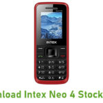Intex Neo 4 Stock ROM