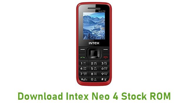 Download Intex Neo 4 Stock ROM