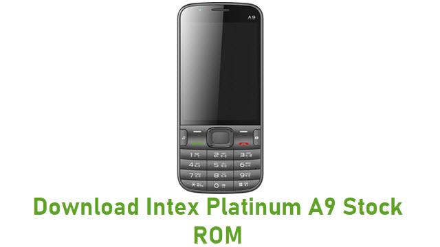 Download Intex Platinum A9 Stock ROM