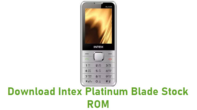 Download Intex Platinum Blade Stock ROM
